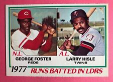 1978 OPC #3 RBI Leaders Foster Hisle NM-MT no creases razor-sharp card