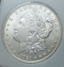 1921 D Morgan Dollar - Denver Mint - BU MS UNC GEM - Nice Silver Coin!