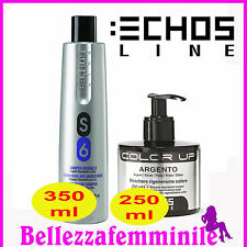 Kit Capelli - Shampoo S6 Antigiallo 350ml + Maschera Antigiallo 250ml Echosline