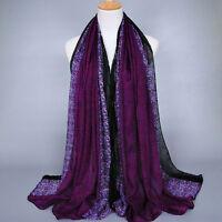 New Fashion Women  Long Print Cotton Scarf Wrap Ladies Shawl Large Scarves
