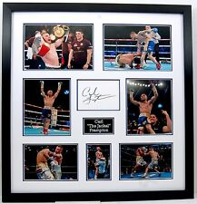 Carl Frampton FRAMED GENUINE HAND SIGNED PHOTO MOUNT DISPLAY The Jackal AFTAL