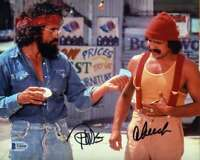 Cheech And Chong BAS Beckett Coa Signed 8x10 Photo Autograph