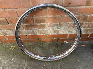 BSA A10 A7 A65 A50 Others Wheel Rim With Very Good Chrome