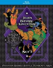 Jojo's Bizarre Adventure Set 1: Phantom Blood & Battle Tendency Arcs (DVD,2017)