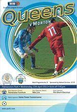 Queen of the South v Greenock Morton 13/04/11