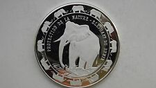 1993 Benin 6000 Francs Elephant Silver Proof coin