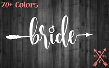 BRIDE WEDDING MARRIED QUOTE STICKER DECAL LAPTOP YETI CAR TUMBLER CUP MACBOOK
