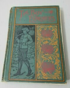 The Boy Explorers Alaska Vintage Book By Harry Prentice Copywright 1895 AL Burt