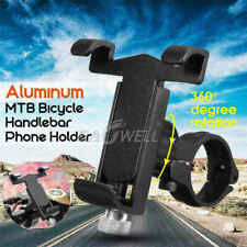 Bike Bicycle Motorcycle Handlebar Call Phone Stand Bracket Aluminum Mount Holder