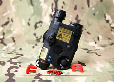 FMA PEQ15 LA5-C UHP Red Laser + LED Flashlight Aimming Combo (TB1074 Black)