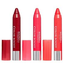 Bourjois 3 x Color Boost Glossy Finish Lip Crayons NEW with SPF15