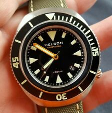 Helson Tortuga Automatic 1000 Meters Divers Watch....Rare!!