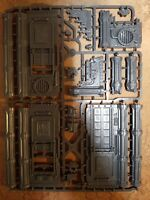 40k terrain. Sector Mechanicus: walls and pillars