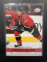 2006-07 UPPER DECK BRANDON PRUST YOUNG GUNS ROOKIE CARD!🔥💪🔥 NY RANGERS🔥💪🔥