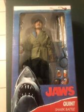 """NECA Jaws (1975) Sam Quint 8"""" Clothed Action Figure U.S. SELLER IN HAND SEALED!!"""