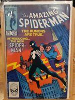 THE AMAZING SPIDERMAN  252   1ST BLACK COSTUME