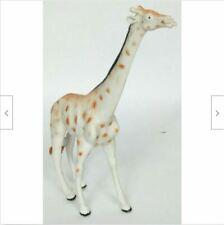"Giraffe Figure Plastic Rubber Zoo Africa Animal Figurine 7.5"""