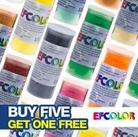 Efco / Efcolor Low Temperature Resin Based Enamelling Powder - 10ml Pots Range