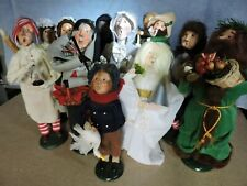 Byers Choice Carolers Dickens 'A Christmas Carol' Lot of 11. 1st and 2nd edtions