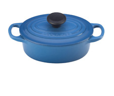 Le Creuset Signature Enameled Cast-Iron 1-Quart Oval French (Dutch) Oven