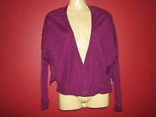 Express Women's Purple Cardigan Batwing Sleeve Cardigan - Size XS - NWT