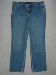 RB05422 **LEE** PERFECT FIT WOMENS JEANS sz16M; SOLID JEANS