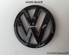 VW SCIROCCO 09 in poi POSTERIORE NERO LUCIDO Badge Emblema-UK Venditore -
