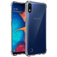 Hülle für Samsung Galaxy A10 Schutzhülle Anti Shock Handy Case Transparent Cover