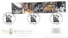(11041) CLEARANCE GB FDC Coronation THREE CROWNS HOTEL CHAGFORD 2 June 2003