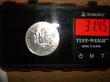 2011 Silver .999 Canada 1ounce $5 Maple Leaf coin  (928)
