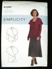 New Simplicity Sewing Pattern R10903 / S9189 Misses Knit Jackets Size Xs-Xxl