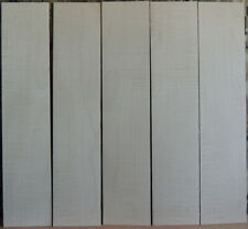 """5 Thin Curly Maple Boards-1/8"""" thick-lumber/wood/crafts/ veneer/inlay/scrollsaw"""