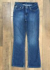 CARHARTT Women's Work Jeans Blue Denim Light Stretch Farm Ranch Size 10x32