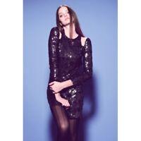 KUKU - Royal Shineness Dress (KU00375 - Metallic Black size 10)