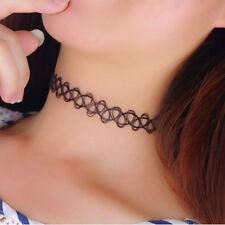 50Pcs Bulk Lots Vintage Stretch Tattoo Choker Necklace Gothic Punk Elastic 90s