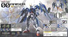 Gundam GN-0000 + GNR-010 00 Raiser Perfect Grade PG Bandai Gunpla Model Kit