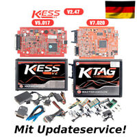 Chiptuning KESS V2 RED Master V5.017 + KTAG V7.020 / OBD2 Tuning ECU Programmer