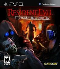 Resident Evil: Operation Raccoon City  - Sony Playstation 3 Game