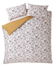 Fat Face Oriental Bird Ochre Duvet Cover Set King