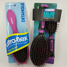 CONAIR PROFESSIONAL SALON RESULTS DETANGLE & STYLE + ULTRA-FLEX DETANGLE BRUSH