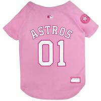 MLB HOUSTON ASTROS Pink Dog Jersey (All Sizes)