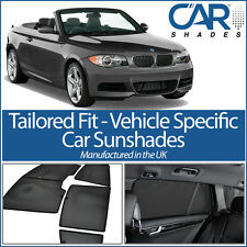 BMW 1 Series Cabriolet 2007-2013 UV CAR SHADES WINDOW SUN BLINDS PRIVACY GLASS
