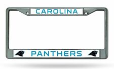 Carolina Panthers New Design Metal Chrome License Plate Frame Tag Cover Football