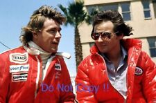 James Hunt & Barry Sheene F1 Portrait 1976 Photograph