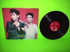 Psyche – Unveiling The Secret 1986 Vinyl LP Darkwave SynthPop Goth Translucent