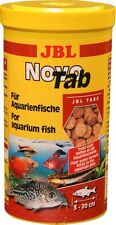 JBL NovoTab 250ml Tablet food tropical aquarium fish Novo Tab adhesive sticking