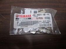LOT OF 5 NEW OEM Genuine Yamaha Keys 1922Y G11,G14,G16,G19,G20,G21,G22 Golf Cart