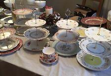 3 Tier Vintage Cake Plates & Buy Cake Plate | eBay