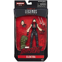 Marvel Legends ELEKTRA Figure BAF Man-Thing Hasbro 2020 Daredevil Spider-Man
