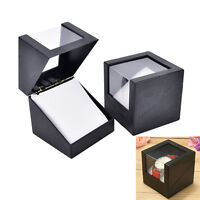 1pc wrist watch box 78*78mm plastic earring display storage holder jewelrycaseS!